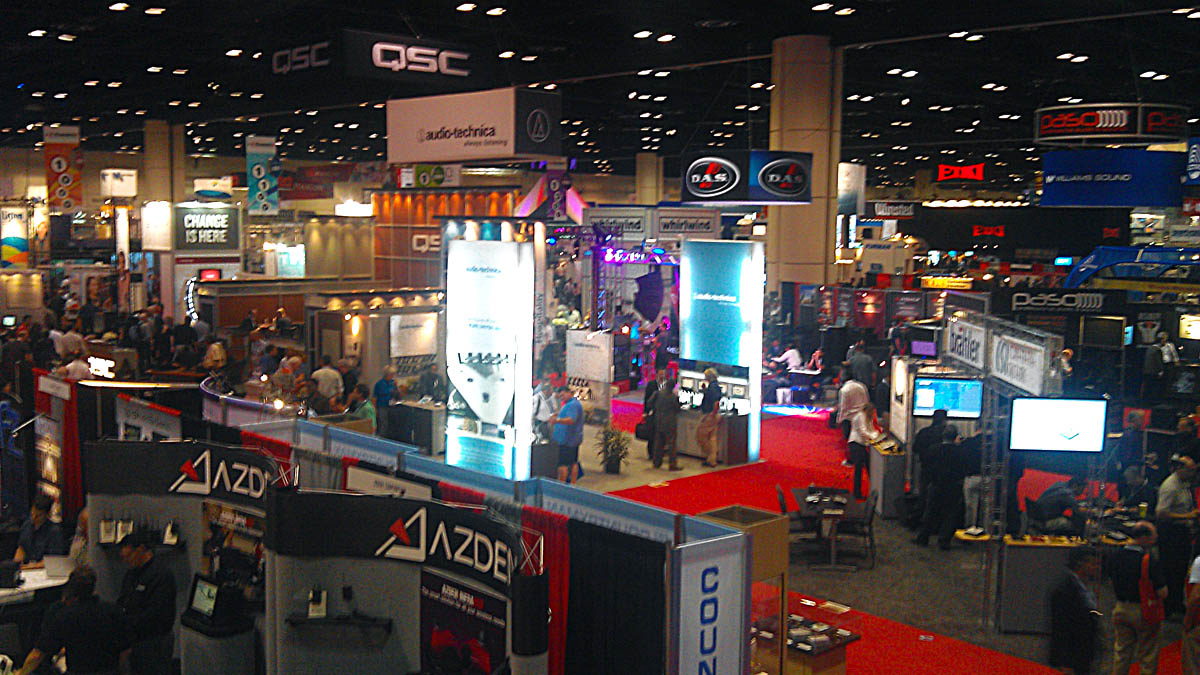 Large tradeshow for technology products